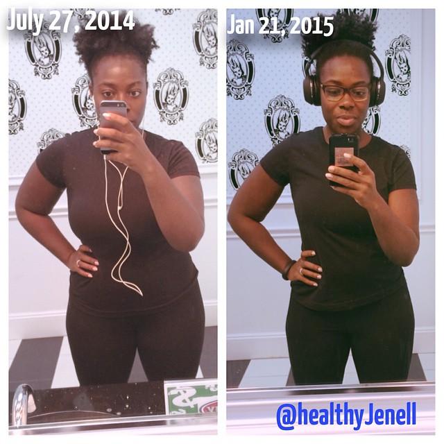 JenellBStewart 6 month Transformation