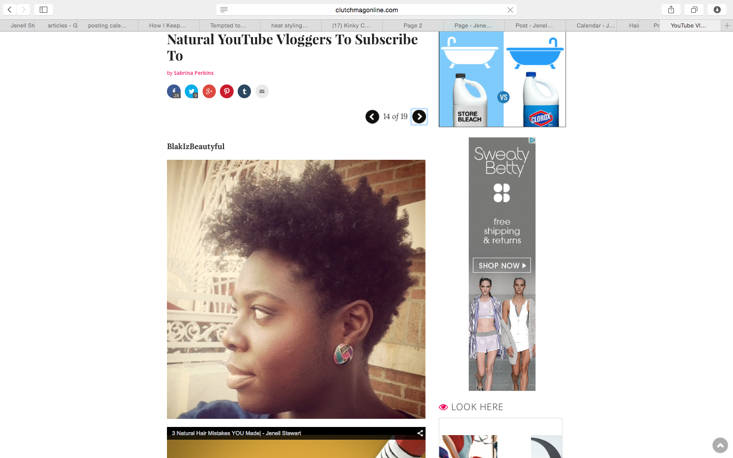 Clutch | Natural YT Vloggers to Subscribe To